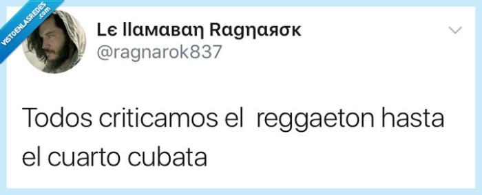 criticar,cubata,reggaeton