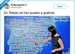 Enlace a Toledo la provincia más afectada por la ola de calor, por @elmonaguillo