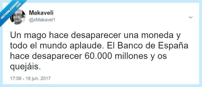 60.000,Banco de España,mago,robar