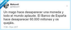 Enlace a El Banco de España es el mejor mago, por @xMakavel1