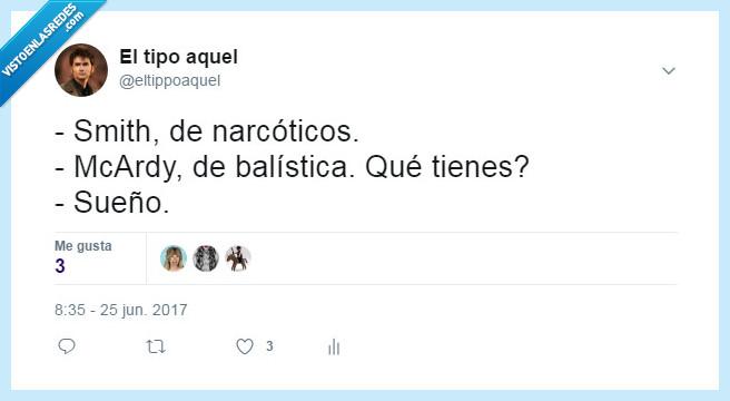 narcoticos,sueño