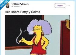 Enlace a Cuando no tienes ni idea pero te han metido el feminismo en los Simpsons en vena, por @Lallombii
