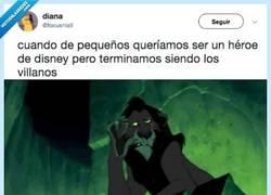 Enlace a La prueba irrefutable de que todos nos hemos acabado convirtiendo en un villano de Disney, por @