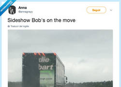 Enlace a El Actor Secundario Bob se ha hecho camionero, por @annagrayy