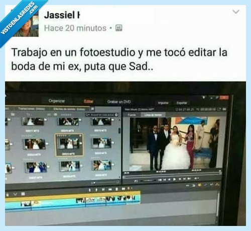boda,editar,ex,vídeo