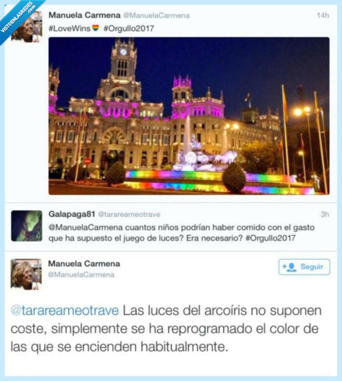 colores,homófoba,luces,orgullo