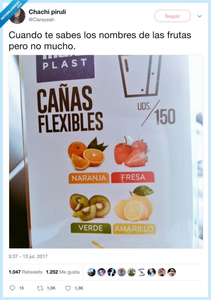 colores,frutas