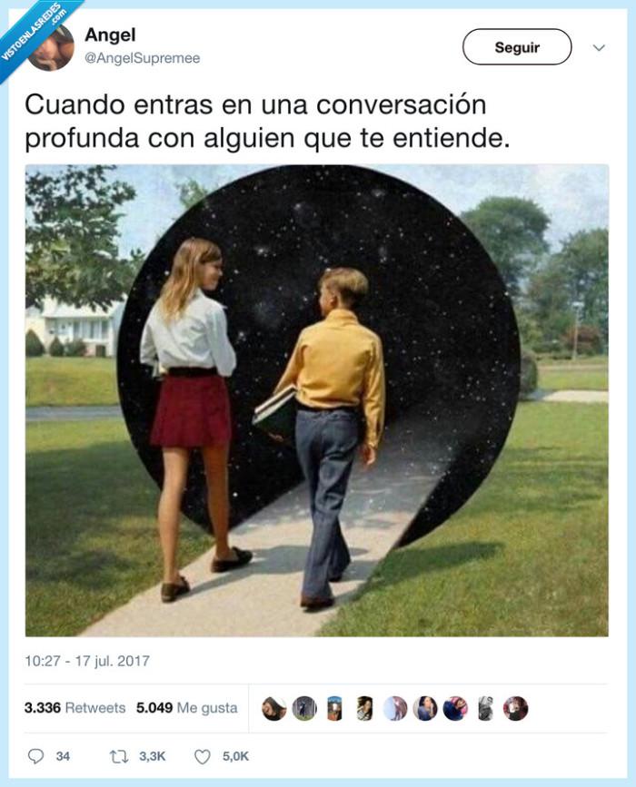 agujero negro,conversación,persona,sintonía