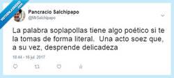 Enlace a No sabes si te están insultando o halagando, por @MrSalchipapo