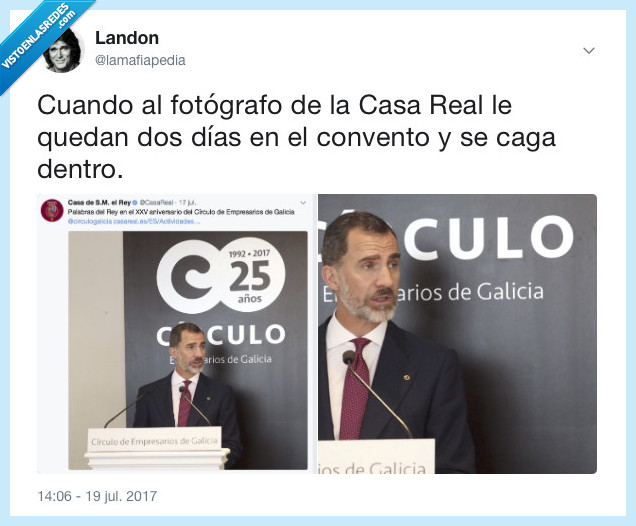 casa real,twitter