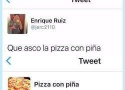 Enlace a Cuando la pizza con piña te tiene más asco a ti, por @OrdureBizarre_