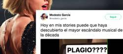 Enlace a Un tuitero descubre que Taylor Swift es la protagonista del plagio más bizarro de la historia
