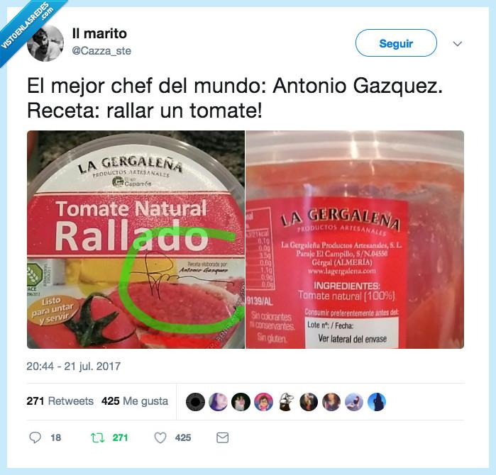 cocinero,rallado,Tomate