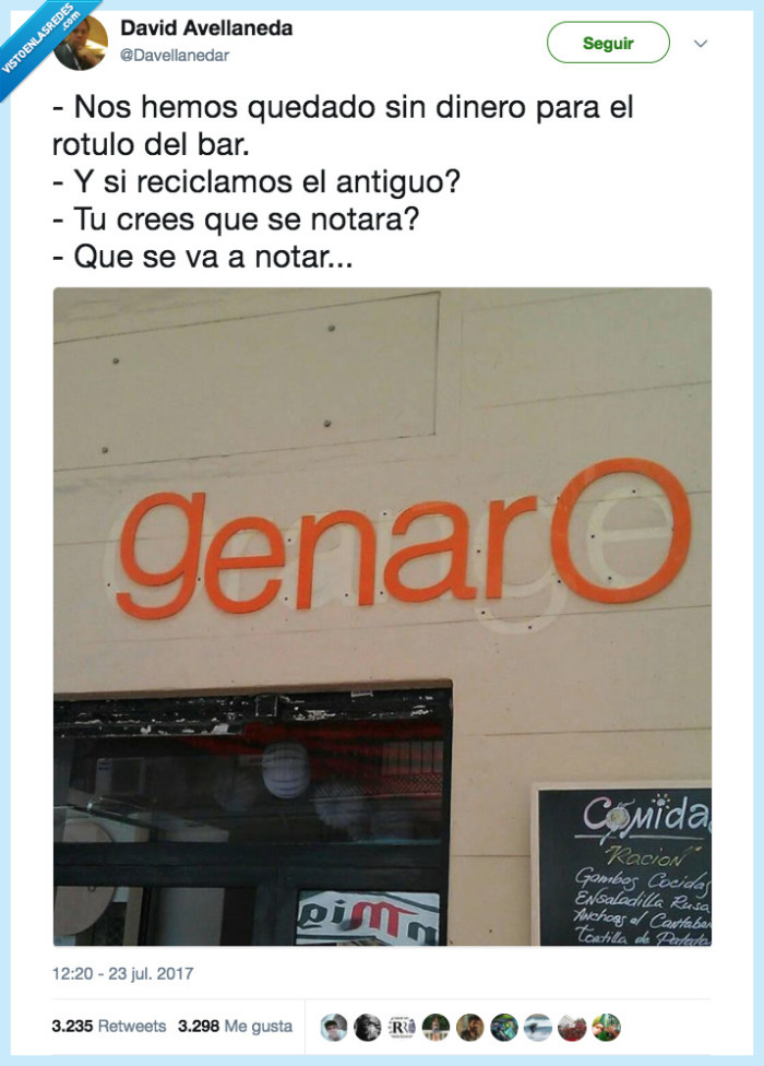 ahorrar,cartel,genaro,orange