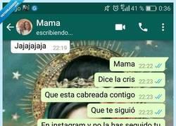 Enlace a Cuando tu madre no se entera mucho de que va instagram, por @eldodoazul