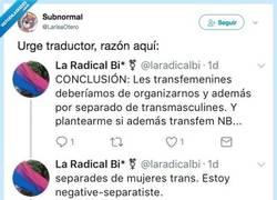 Enlace a Traducción e interpretación de géneros, por @LarisaOtero