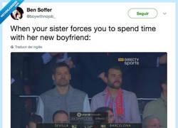 Enlace a Cuando tu hermana te obliga a pasar tiempo con su nuevo novio, por @boywithnojob_