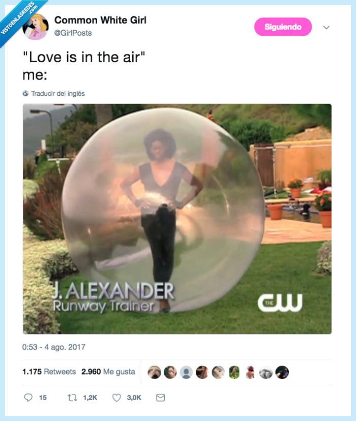 aire,amor,burbuja