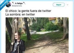 Enlace a Twitter es oscuro y alberga horrores, por @stephernelia
