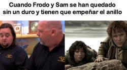 Enlace a El hilo que explica la historia de Frodo en el programa de La Casa de Empeños, por @aburrido345