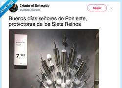 Enlace a El verdadero trono, por @CriadoEnterado