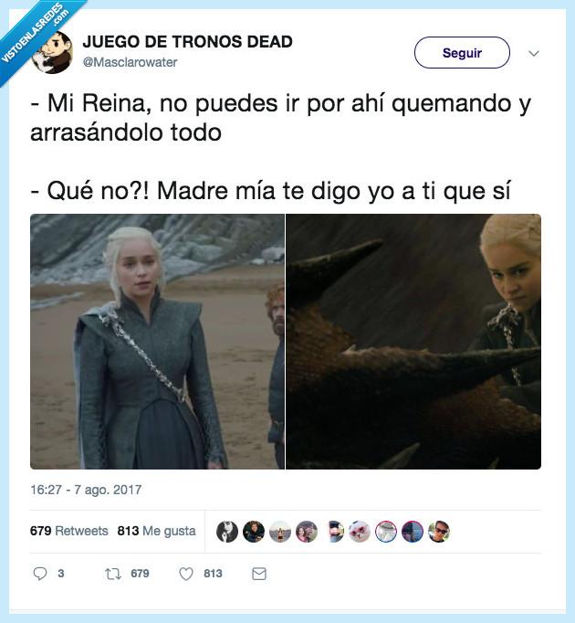daenerys,dragon,reina