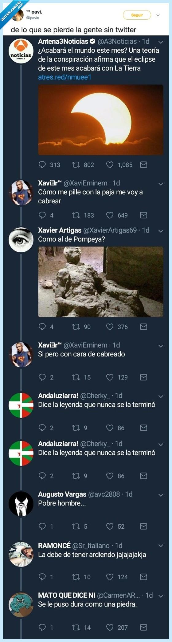 broma,fin del mundo,twitter