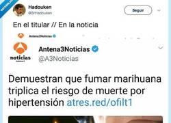 Enlace a Cuando Antena3 deja a los becarios escribir las noticias y meten la pata hasta el fondo, @SrHadouken