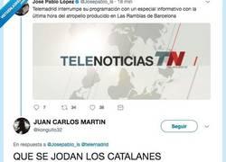 Enlace a La lamentable respuesta de un tuitero sobre el Atentado en Barcelona