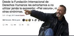 Enlace a El día que Pérez Reverte le calló la boca con un hostión a la Fundación de los Derechos Humanos