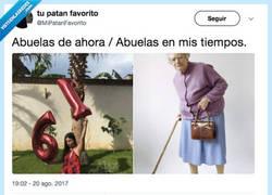 Enlace a Como han cambiado las abuelas de ahora, por @mipatanfavorito