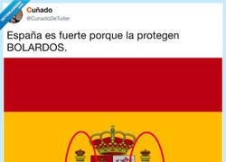 Enlace a España: siempre protegida, por @Cuñadodetuiter