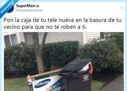 Enlace a Lo siento, vecino por @supermanumolina