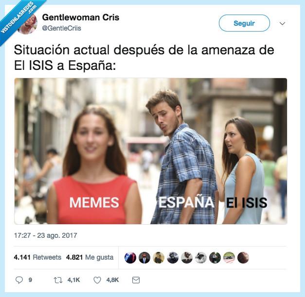 españa,isis,meme