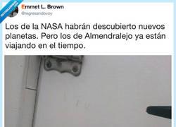Enlace a Almendralejo pionero en la lucha espacial, por @regresandovoy