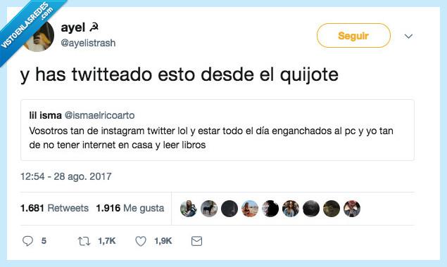 quijote,tuit,twitter