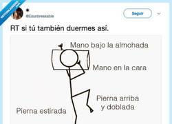 Enlace a La forma más común de dormir de todas, por @Esunbreakeable