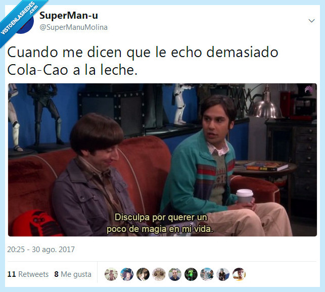 colacao,leche,the big bang theory