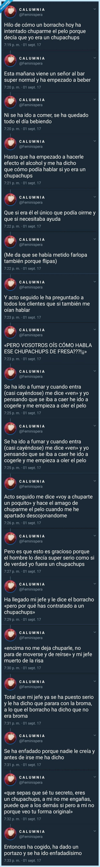anécdotas,borracho,Chupa Chups,Historias,Twitter