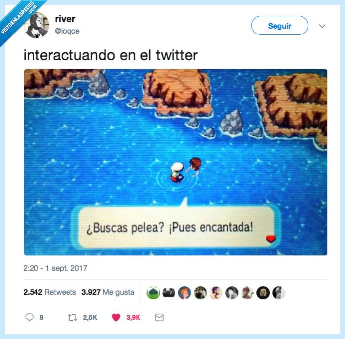 pelea,pokemon,twitter