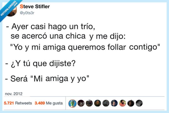 amigo,hablar,trío