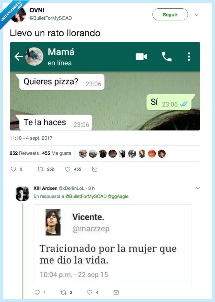 hacer,madre,pizza