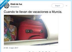 Enlace a Hasta las maletas se cabrean, por @olaladefua