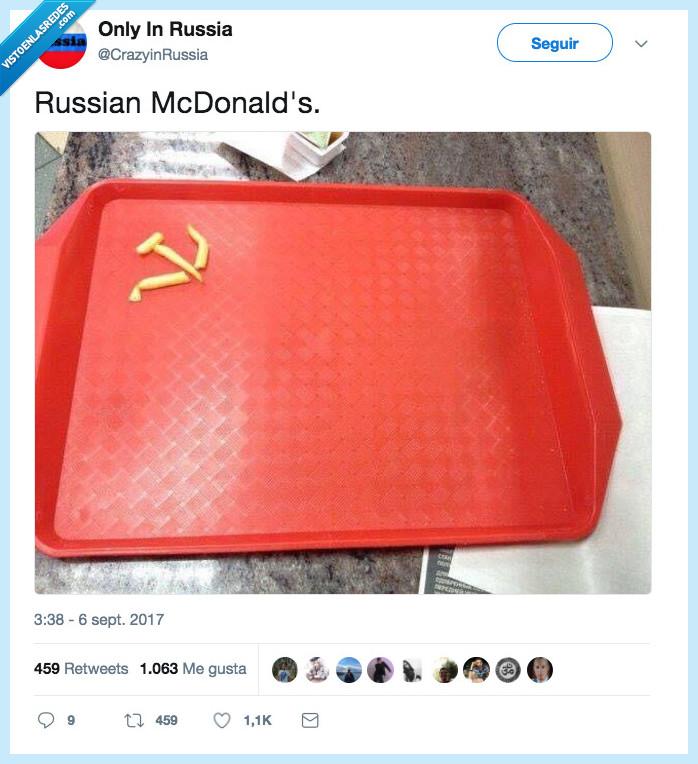 mcdonald,rusia