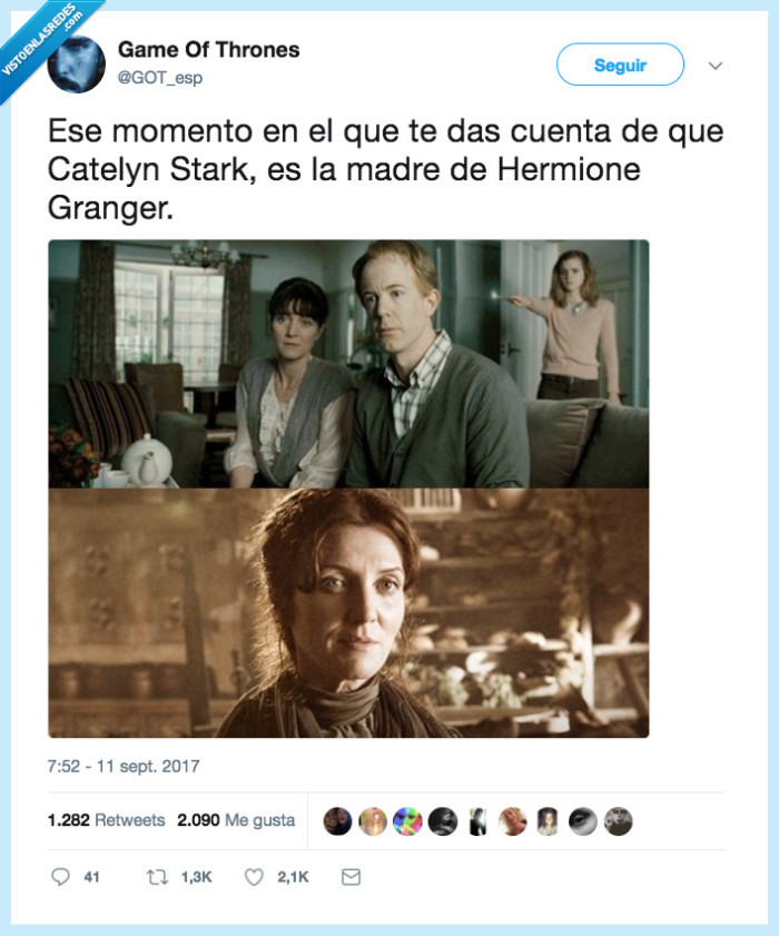 cuenta,dar,hermione granger