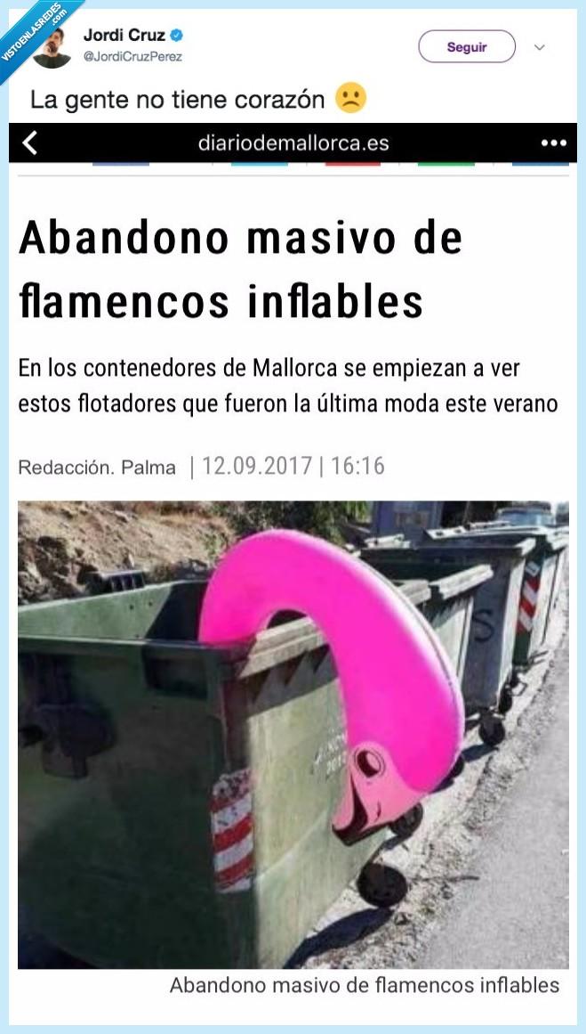 abandono,flamenco,plástico