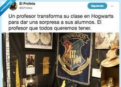 Enlace a Pottermaniacos sabéis que si hubieseis estudiado en una clase así hubieseis sacado un 10 en todo