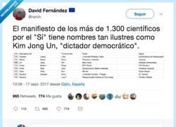 Enlace a Firman más de 1300 personas por el SÍ a la Independencia y se le ha colado más de la mitad de trolls