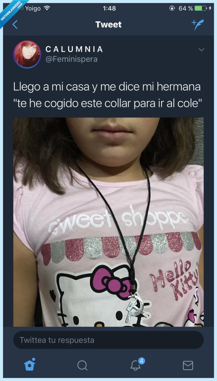 collar,Hermana