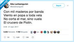 Enlace a La canción del madero, por @edulartzanguren